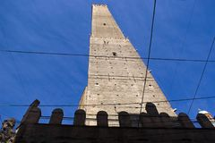Asinelli Tower, Bologna Royalty Free Stock Photography