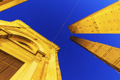 Asinelli Tower in Bologna Stock Photography