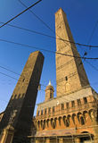 Asinelli tower - bologna Stock Image