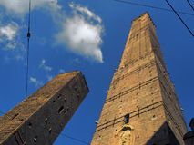 Asinelli tower Bologna Italy Stock Photography