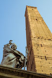 Asinelli tower in Bologna Royalty Free Stock Photography