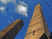 Asinelli wierza Bologna Włochy Fotografia Stock