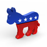 Asino del Democrat Fotografie Stock Libere da Diritti