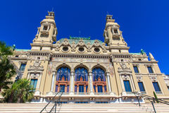 ?asino Monte Carlo, Kooi d'Azur, Monaco Royalty-vrije Stock Foto