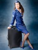 Asistente de vuelo Foto de archivo