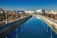 ASJABAD, TURKMENISTÁN, el 25 de enero de 2017: Arquitectura moderna o Imagenes de archivo
