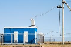 Ask av den elektriska transformatorn Royaltyfria Foton