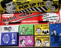 Ask av magiska trick Royaltyfria Foton