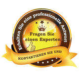 Ask an expert. Ask Us German language Stock Photos