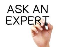 Ask An Expert Stock Photo