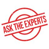 Ask The Experts rubber stamp Stock Photos