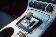 Ask för kugghjul 2017 för Mercedes-AMG SLC 43 Royaltyfria Bilder