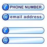 Ask för telefon- och postadress Fotografering för Bildbyråer