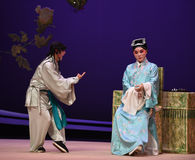 "Ask for instructions-Kunqu Opera ""the West Chamber"" Stock Photography"