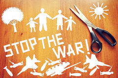 Ask Stop the war royalty free stock photo
