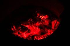 Aska i den hoade ugnen II Royaltyfri Foto