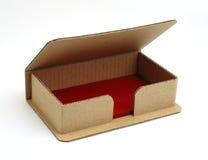 askaffärskort Arkivbild