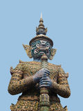 Askan-mara. Askan - mara is the dark purple giant standing guard against the evil Royalty Free Stock Images