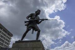 Askari monument Dar es Salaam Arkivfoton