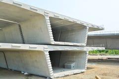 Askbalk i konstruktionsplats Arkivfoto
