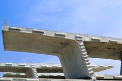 Askbalk i konstruktionsplats Arkivfoton