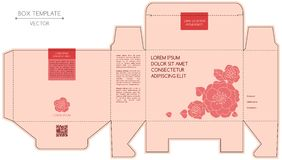 Askdesign som matris-stämplar stock illustrationer