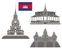 askfat Uppsättning royaltyfri illustrationer