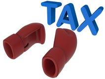 Askhandskar vs skattbegrepp vektor illustrationer