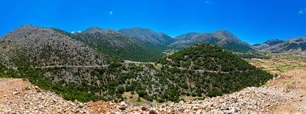 Askifu plateau at Crete island Royalty Free Stock Images