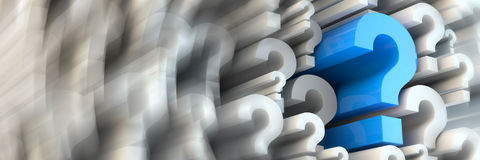 Asking questions Royalty Free Stock Image
