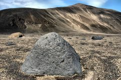 Askja, IJsland Stock Afbeeldingen