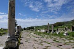 Asklepieion di Pergamon Immagini Stock Libere da Diritti