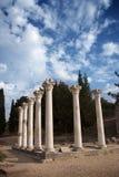 Asklepieion, Hippocrates medische school, Griekenland Stock Foto