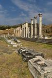 Asklepion av Pergamonen Arkivfoto