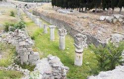 Asklepion av Pergamum Royaltyfria Foton