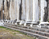 Asklepion av Pergamum Arkivfoto