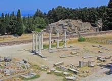 Asklepion, Kos, Grecia Immagine Stock