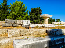 Asklepion at Kos Island. The sanctuary of Asklepieion at Kos island in Greece stock photos
