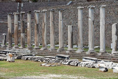 The Asklepion in Pergamon Royalty Free Stock Images