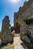 Asklepios castle, Rhodes island, Greece. View of Asklepios castle on a beautiful day, Rhodes island, Greece Stock Image