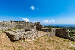Asklepios castle, Rhodes island, Greece Royalty Free Stock Photos