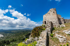 Asklepios castle, Rhodes island, Greece Stock Photos