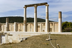 Asklipios temple and  Stock Photos