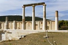Asklipios temple and  Stock Photos