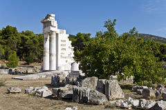 Asklipios temple at Epidaurus Royalty Free Stock Photos