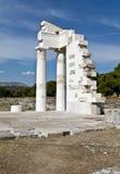 Asklipios temple at Epidaurus, Greece Stock Photos