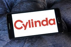 Asko Cylinda公司商标 库存图片