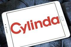 Asko Cylinda företagslogo Arkivbild