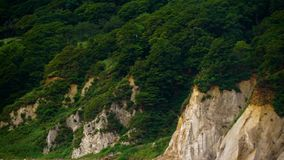 Askold's The White Rocks (Primorye). Beautiful footages for your eyes stock video footage