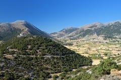 Askyfou plateau at Crete island Royalty Free Stock Photos